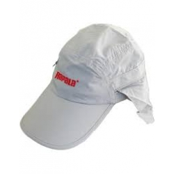 Gorra Rapala con protector color gris claro