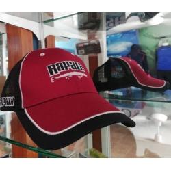 Gorra Rapala color rojo con negro