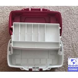 Caja para artìculos de pesca de 1 charolas
