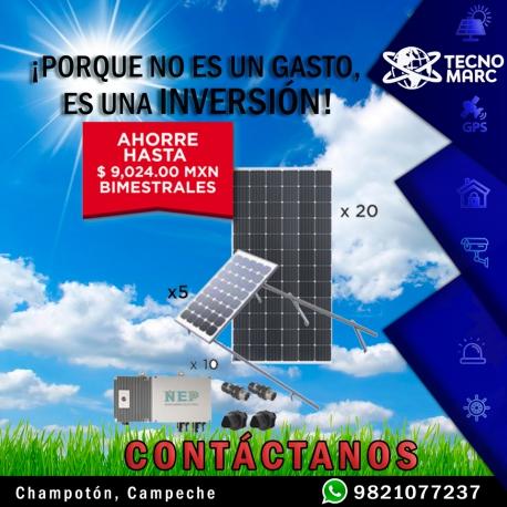 Kit Solar de 5.5 kW