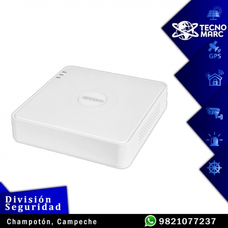 DVR/NVR 5 Canales (4+1) / 4 Canales Turbo HD 1080P Lite EPCOM