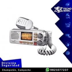 UM380 Radio Móvil Marino VHF, 25 W, Color Blanco